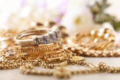 jewelery Royalty-vrije Stock Fotografie