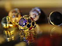 Jewelery background Royalty Free Stock Image