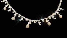 Jewelery de prata. fotografia de stock