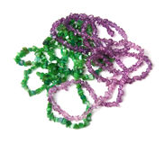 Jewelery from gemstones Royalty Free Stock Photos