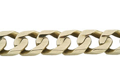 Jewelery gold bracelet Royalty Free Stock Image