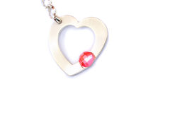 Jewelery heart Stock Images