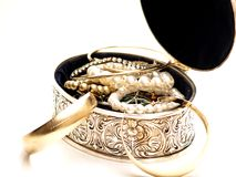 Jewelery Kasten Stockfotos