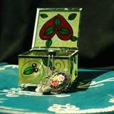 Jewelery Kasten Lizenzfreie Stockfotografie