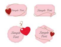 Jewelery label Royalty Free Stock Photo