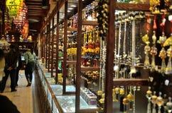 jewelery mężczyzna sklepu wempe kobiety Obrazy Royalty Free