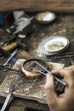 Jewelery making Stock Images