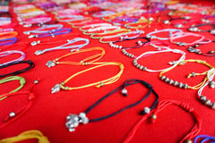 Jewelery at Market in Thailand Stock Photos