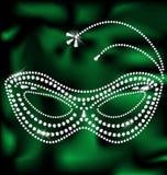 jewelery mask Stock Images
