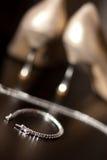 Jewelery para a noiva Imagem de Stock