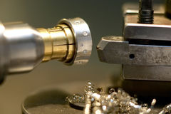 Jewelery production. In a professional workshop Stock Photos
