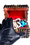 Jewelery robbery stock images