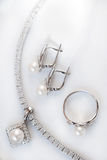 Jewelery set Stock Images