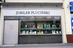 Jewelery store Stock Photography