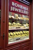 Bohemia jewelry store Royalty Free Stock Images