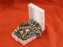 Jewelery treasure.  Royalty Free Stock Photos