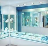 jewelerymän lagrar wempekvinnor Royaltyfri Foto