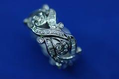 Jewellaery del diamante Fotografia Stock