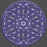 Jewelledorb geproduceerde textuur stock illustratie