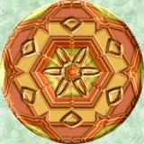 Jewelledorb met bloemenpatroon vector illustratie