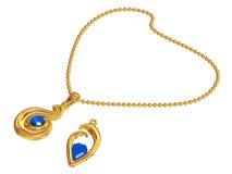 Jeweller ornaments royalty free illustration