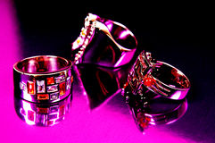 Jeweller ornaments Stock Photos