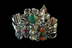 Jeweller ornaments Royalty Free Stock Photo