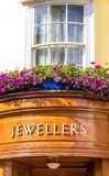 Jeweller's Shop Sign Royalty Free Stock Image