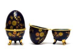 jewellery коробки изолированный яичком Стоковая Фотография