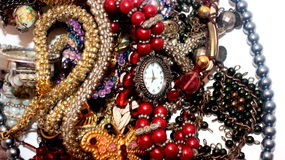 Jewellery. Some kind of jevellery on the table Royalty Free Stock Photos