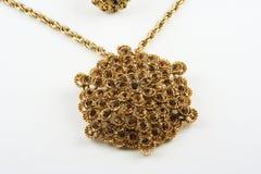 Jewellery. Indian nice golden jewellery in stock Stock Images