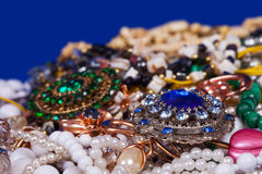 Jewellery background Royalty Free Stock Image