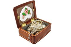 Jewellery box Royalty Free Stock Photography