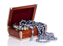 Jewellery box stock image