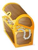 A jewellery box stock illustration