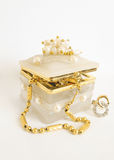 Jewellery box Royalty Free Stock Images