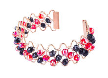 Jewellery. bracelet on background Royalty Free Stock Image