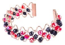 Jewellery. bracelet on background Royalty Free Stock Photos