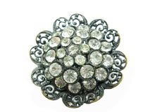 Jewellery brooch Royalty Free Stock Images