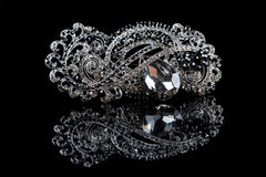 Jewellery brooch isolated Stock Photos