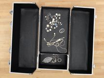 Jewellery Case Royalty Free Stock Photography
