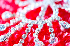 Jewellery close-up Stock Photography