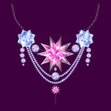 Jewellery decoration. Stock Photo