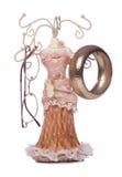 Jewellery display figurine stand Royalty Free Stock Photo