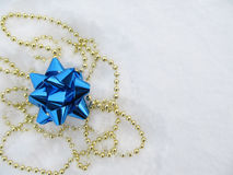 Jewellery dla dekoraci na śniegu Fotografia Stock