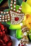 Jewellery Kundan Стоковое Изображение RF