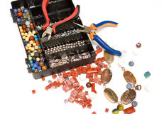 Jewellery Making Stock Image