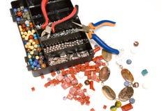 Jewellery Making Stock Image