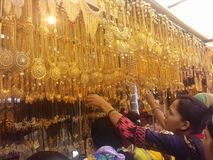 Jewellery market Royalty Free Stock Image
