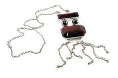 jewellery necklac s kobiety Zdjęcia Royalty Free